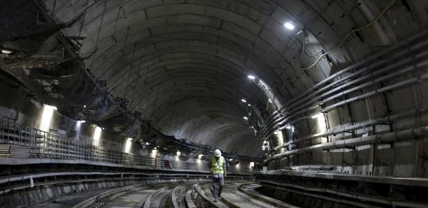 Citada na Lava Jato, obra do metrô do Rio custará quase o dobro do prometido