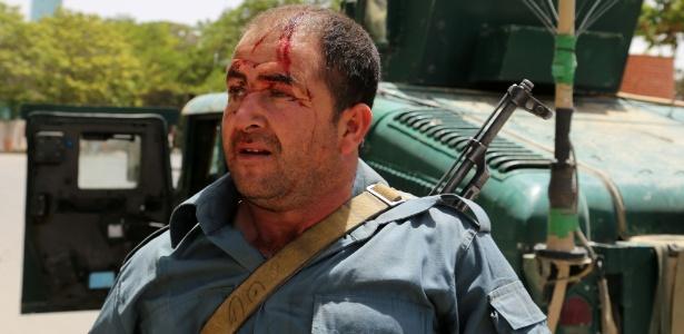 Segurança fica ferido em ataque do Taleban a tribunal em Ghazni, no Afeganistão