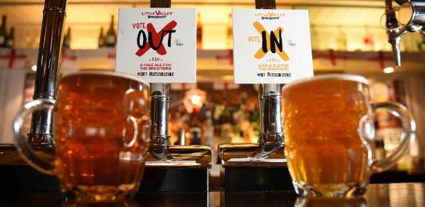"""A """"Little Valley Brewery"""" fabricou 5.600 litros de três """"pale ales"""" diferentes, batizados de """"In"""", """"Out"""" e """"IDK"""" (como """"I Don't Know"""", eu não sei)"""