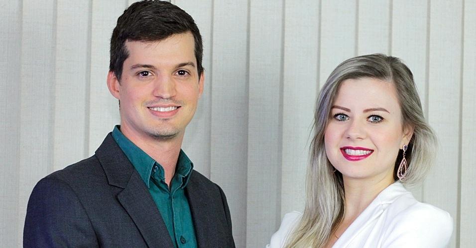 Com investimento inicial de R$ 240 mil, os sócios Rafael Fragonesi, 28, e Liliane Bida, 27 (foto), criaram um quiosque de lanches e guloseimas sem glúten e lactose feitos de produtos naturais e orgânicos.