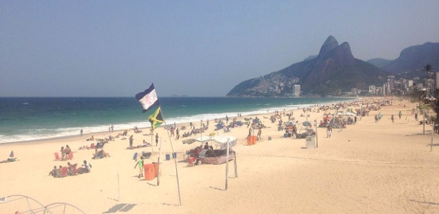 A praia de Ipanema fica na região mais valorizada do Rio