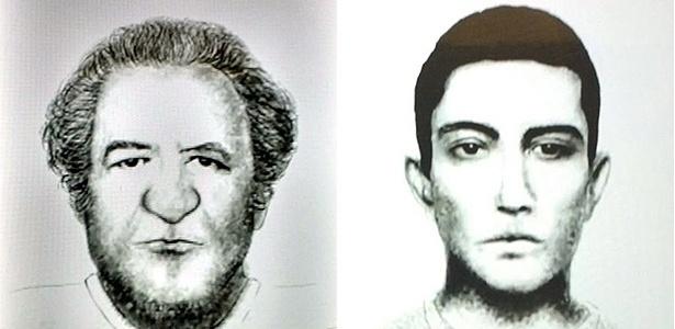 Suspeitos de ataque: na estação Paraíso (à esq.) e na estação Tamanduateí