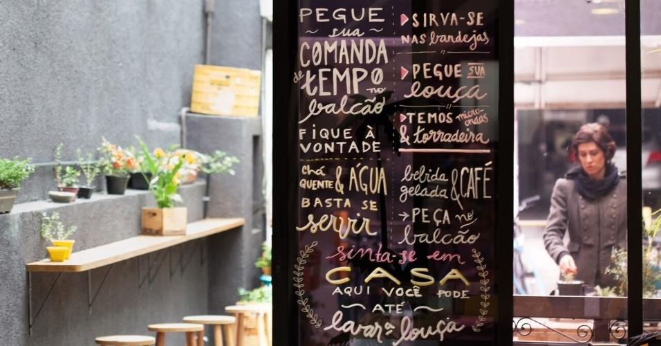 Lemni, café e coworking que cobra pelo tempo, em São Paulo