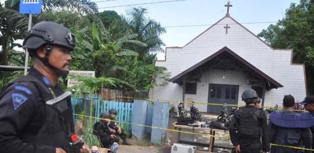 Ataque contra igreja deixou várias crianças feridas