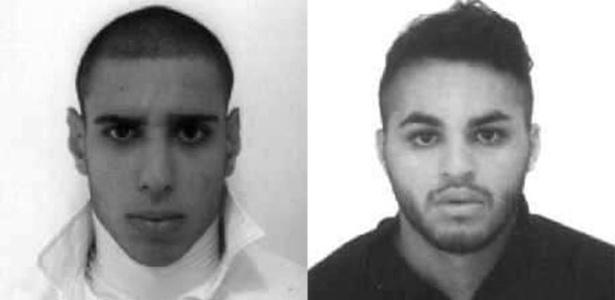 Alipio dos Santos e Ricardo do Nascimento, suspeitos de espancar o ambulante Luiz Carlos Ruas até a morte