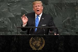 Análise: Trump dá visão seletiva de soberania em discurso na ONU (Foto: Timothy Clary/AFP)