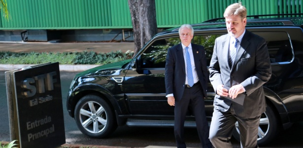 Fernando Segovia chega ao Supremo Tribunal Federal para encontro com a ministra Cármen Lúcia
