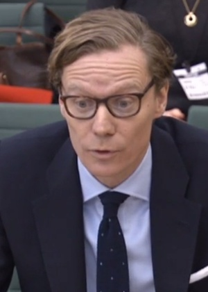 Alexander Nix, ex-CEO da Cambridge Analytica