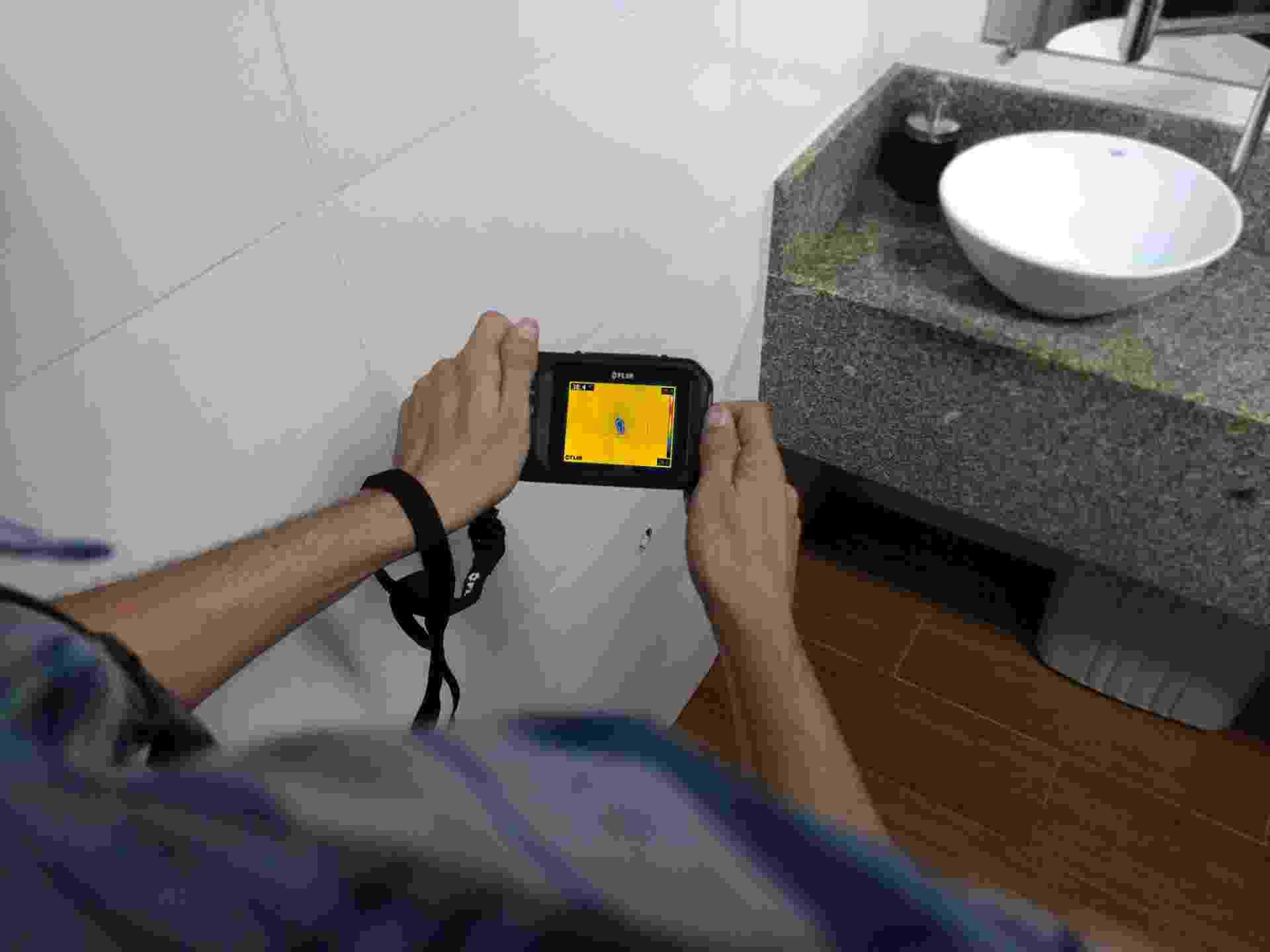 Casa do Construtor - câmera térmica - Divulgação