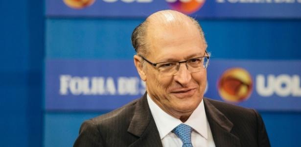 23.mai.2018 - Geraldo Alckmin, pré-candidato do PSDB à Presidência
