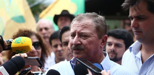 Nabhan Garcia mudou discurso após se encontrar com Bolsonaro nesta quarta-feira (24)