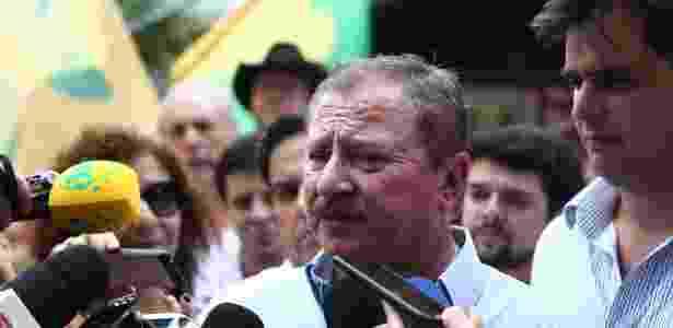 24.out.2018 - O presidente da União Democrática Ruralista, Luiz Antonio Nabhan Garcia - Fábio Motta/Estadão Conteúdo