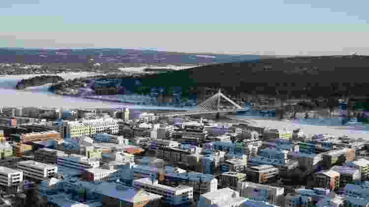 Atualmente, cerca de 500 mil pessoas por ano visitam Rovaniemi, município de 63 mil habitantes - VISIT ROVANIEMI/DIVULGAÇÃO - VISIT ROVANIEMI/DIVULGAÇÃO