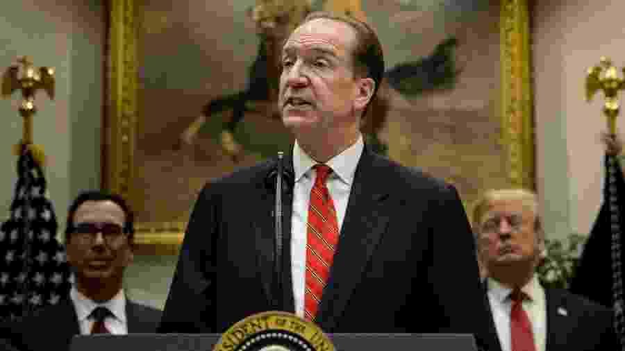 David Malpass, indicado pelo presidente dos EUA, Donald Trump, para presidir o Banco Mundial - Brendan Smialowski/AFP
