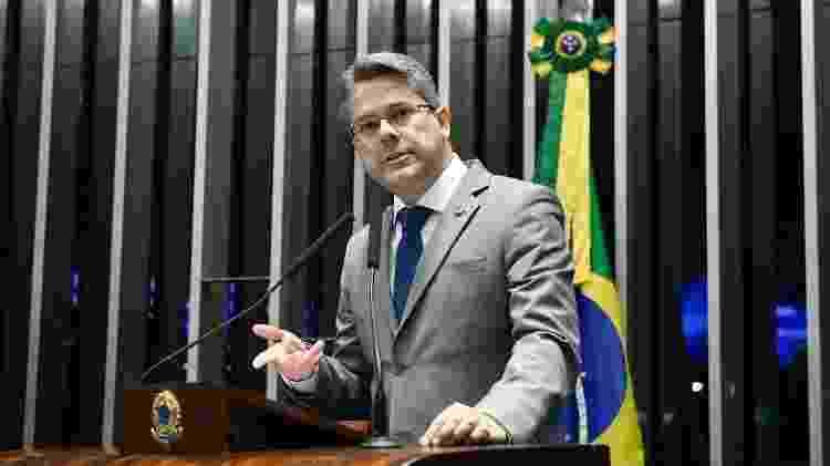 """O senador Alessandro Vieira (Cidadania-SE), que deve assumir a linha de apuração sobre """"cyberbullying"""" - Pedro França/Agência Senado"""