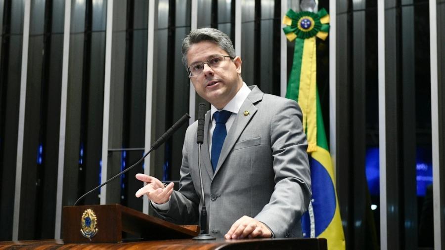 Senador Alessandro Vieira (Cidadania-SE) pede investigação ao ministro por improbidade administrativa - Pedro França/Agência Senado