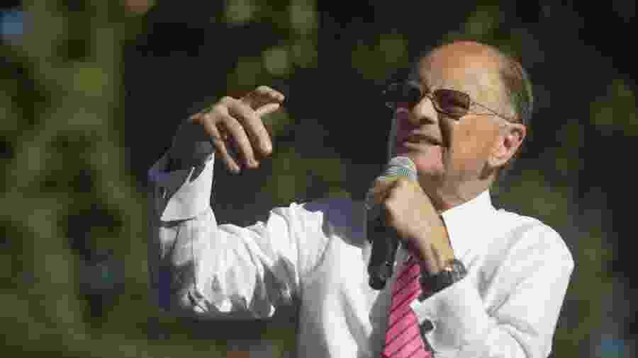 """Edir Macedo, líder da Igreja Universal do Reino de Deus, estava """"sustentando"""" muitas TVs com compra de grade  - Danilo Verpa/Folhapress"""