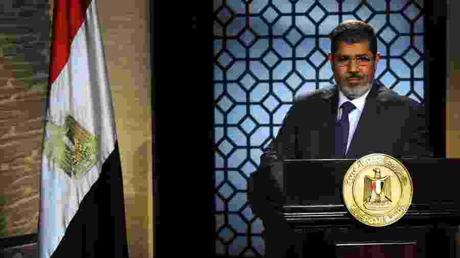 24.jun.2012 - Ex-presidente do Egito Mohamed Mursi  - Reuters