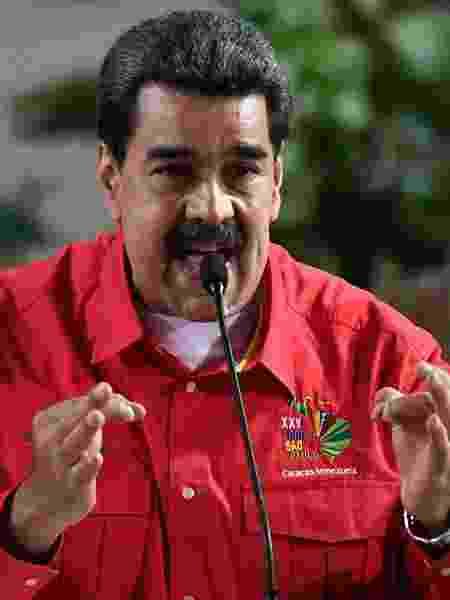 O líder venezuelano, Nicolás Maduro - Federico Parra/AFP