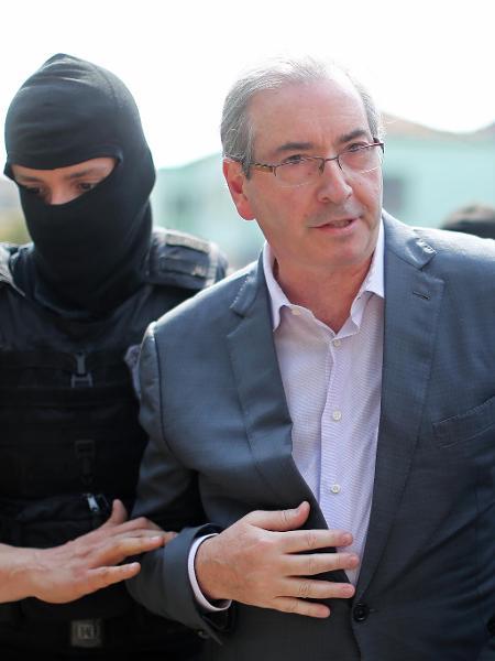 O ex-deputado federal do MDB, Eduardo Cunha - Heuler Andrey/AFP