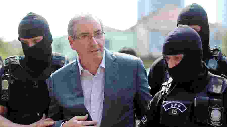 Eduardo Cunha, ex-presidente da Câmara - Heuler Andrey/AFP