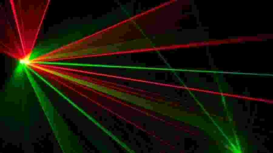 O laser é uma das invenções mais revolucionárias do século 20 - Getty Images/BBC