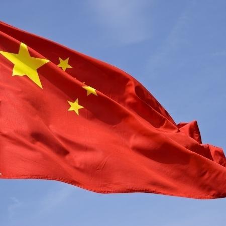 Bandeira da China  - Reprodução