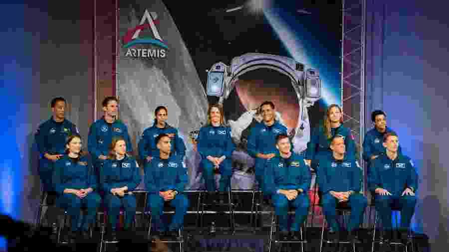 Grupo de 13 astronautas é o primeiro a se formar no programa Artemis - Mark Felix / AFP