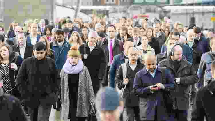 Londres é uma das cidades onde há maior demanda por estrangeiros - Getty Images - Getty Images