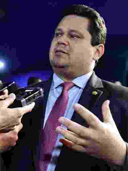 Presidente do Senado, Davi Alcolumbre (DEM-AP), criticou pronunciamento de Bolsonaro - Waldemir Barreto/Agência Senado