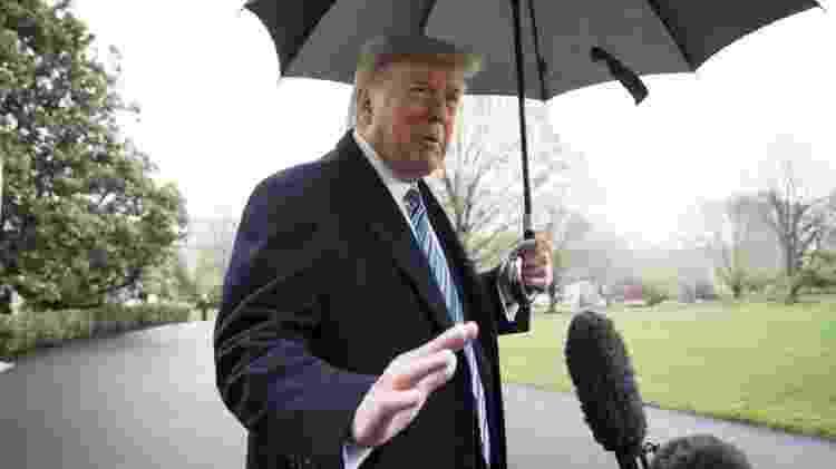 Trump minimizou o risco de coronavírus no país desde início da pandemia - Getty Images - Getty Images