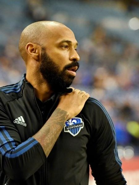 Técnico do Montreal Impact, Thierry Henry - USA TODAY USPW