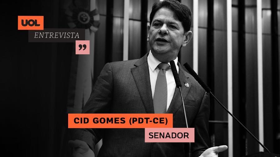 UOL Entrevista com Cid Gomes (15/06/2020) - Arte/UOL