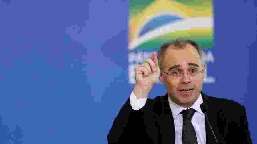 Ministro da Justiça, André Mendonça, no Palácio do Planalto -