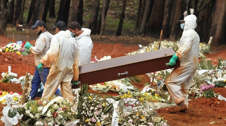 Cemitério - Robson Rocha/Agência F8/Estadão Conteúdo - Robson Rocha/Agência F8/Estadão Conteúdo
