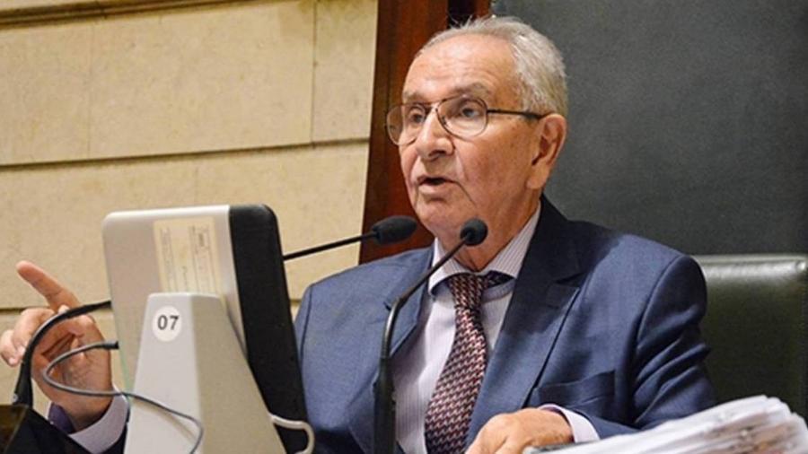 O presidente da Câmara de Vereadores do Rio, Jorge Felippe (DEM) - Divulgação