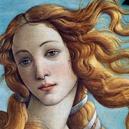 A espiral de cachos dourados que repousa sobre o ombro direito da Vênus de Botticelli não está lá por acaso - GETTY IMAGES