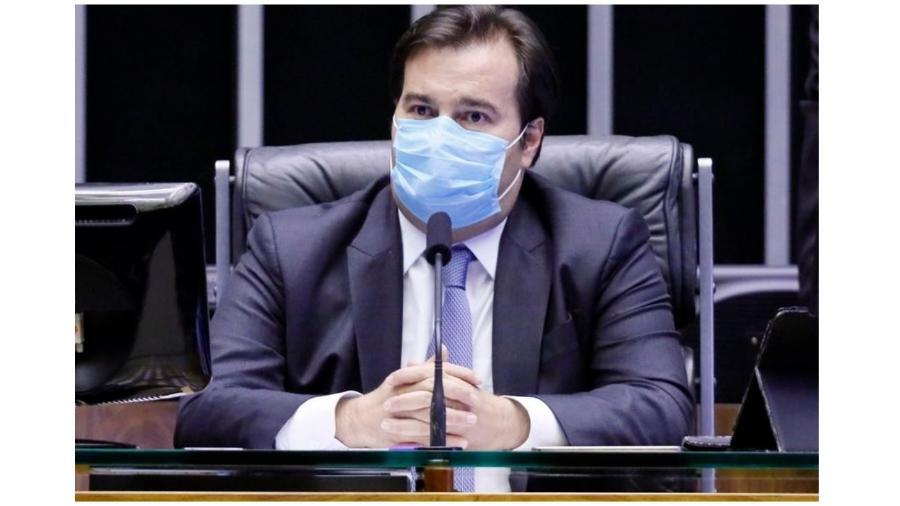 Rodrigo Maia criticou  política adotada por Bolsonaro durante a pandemia do novo coronavírus -  Maryanna Oliveira/Agência Câmara