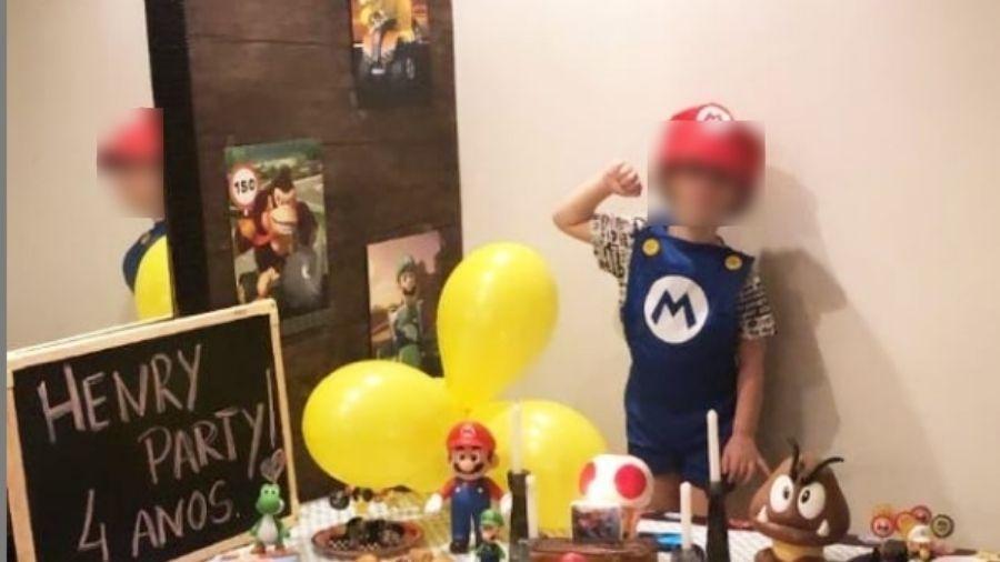 Henry Borel posa para foto em aniversário de 4 anos, em 2020 - Reprodução/Instagram