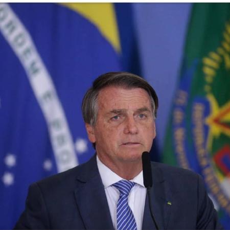 Bolsonaro durante pronunciamento em Brasília (DF). - Dida Sampaio/Estadão