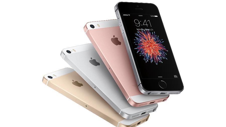 9e0d2c2835a O iPhone SE marcou a volta da Apple às telas de quatro polegadas para  smartphones Imagem: Divulgação
