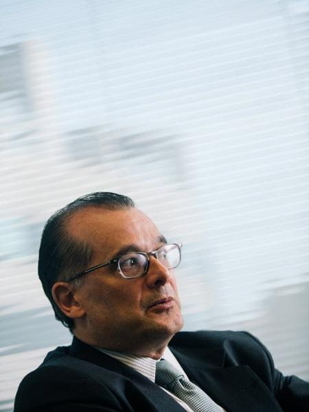Retrato do Gustavo Franco, ex-presidente do Banco Central - Alexandre Severo/Folhapress