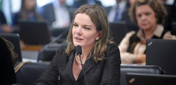 Gleisi Hoffmann: 'Senado não tem moral para julgar Dilma' - Pedro França - 8.jun.2016/Agência Senado