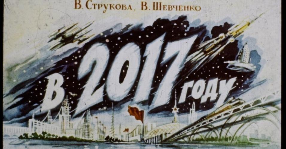 16.jan.2017 - A história futurista foi publicada em formatos de tiras para projetores de slides