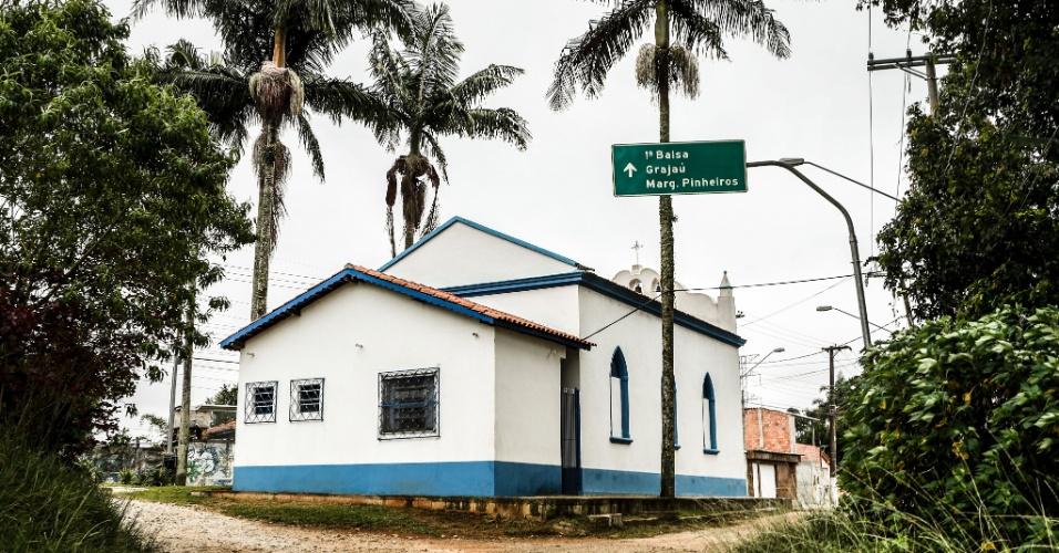 17.mar.2017 - Apesar de a placa indicar o caminho para a marginal Pinheiros, esta importante via de rodagem da capital paulista fica bem longe, a cerca de 20 km.