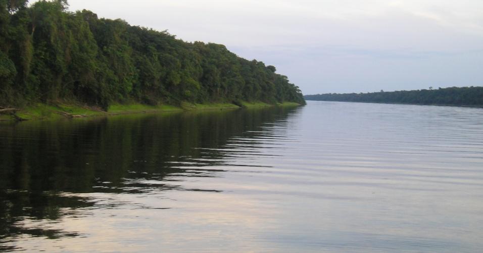 19.abr.2017 - Um passeio pelo Rio Negro dentro do Parque Nacional de Anavilhanas