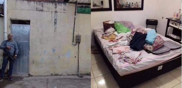 Polícia esteve na casa onde o estupro foi registrado em vídeo em Mesquita