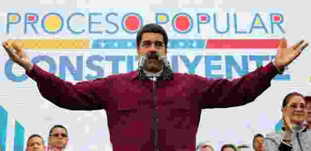 Maduro - Imprensa presidencial/Venezuela via Xinhua - Imprensa presidencial/Venezuela via Xinhua