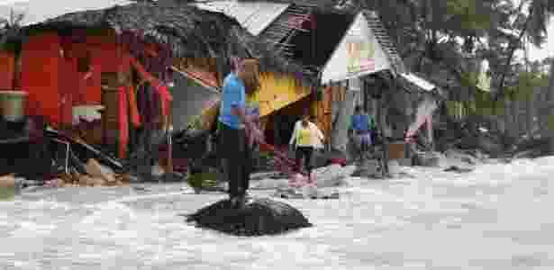 Em Punta Cana, na República Dominicana, terremoto causou destruição e inundações - Ricardo Rojas/Reuters - Ricardo Rojas/Reuters