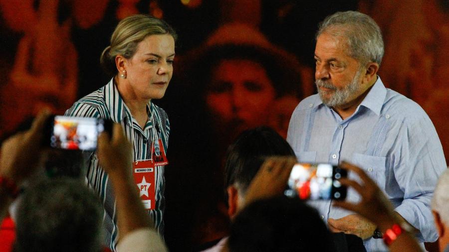 PT ainda não definiu se Lula será candidato à presidência em 2022 - Aloisio Mauricio/Estadão Conteúdo
